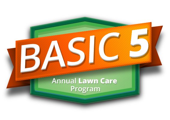 Basic 5 Annual Lawn Care Program